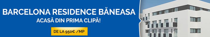 Complexul rezidenţial Barcelona Residence Băneasa. Acasă din prima Clipă!