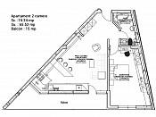 Apartament 2 camere - Ansamblu Rezidential Doamna Ghica