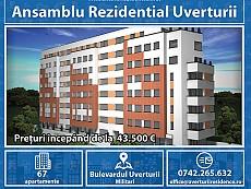 Apartament 2 camere Uverturii - Imobil Finalizat