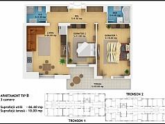 Apartament 3 camere - Ansamblu Rezidential Muncii