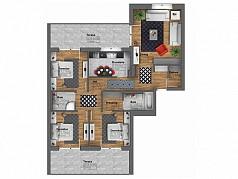 Penthouse 4 camere - Barcelona Residence Titan