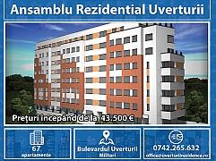 Apartament 2 camere - Ansamblu Rezidential Uverturii