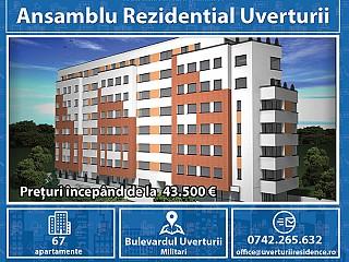 Apartament 2 camere  Apusului - Imobil Finalizat