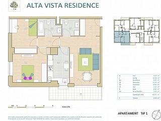 Apartament 3 camere - Alta Vista Residence